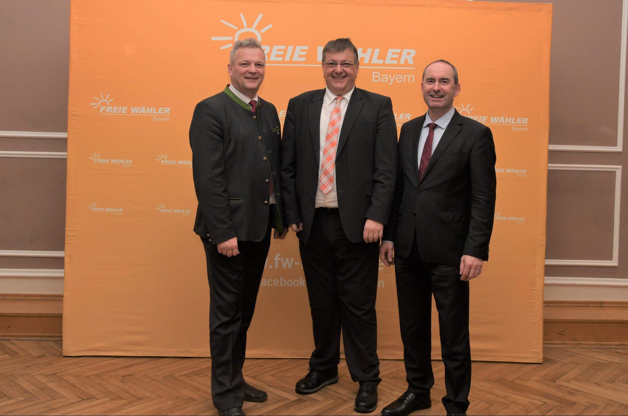 Stv. Ministerpräsident Hubert Aiwanger zu Gast in Manching
